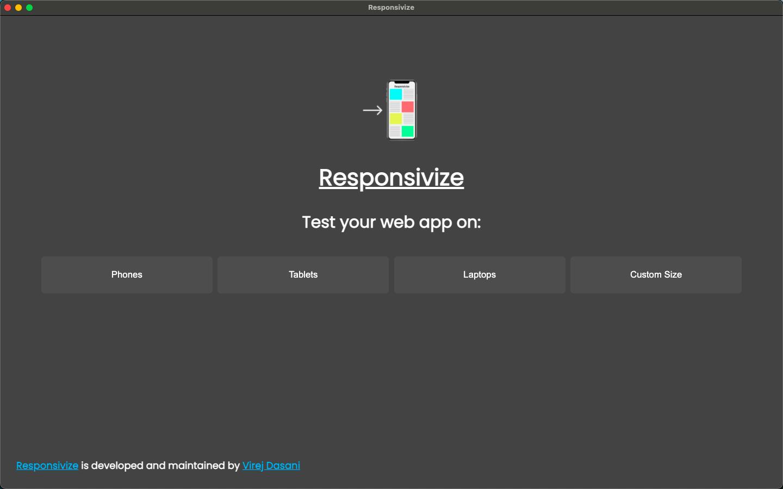 Responsivize home page