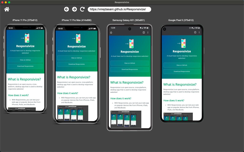 Responsivize mobile view